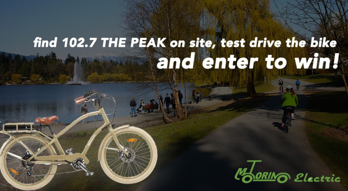 PEAK VIPs: Win an Electric Bike from Motorino!