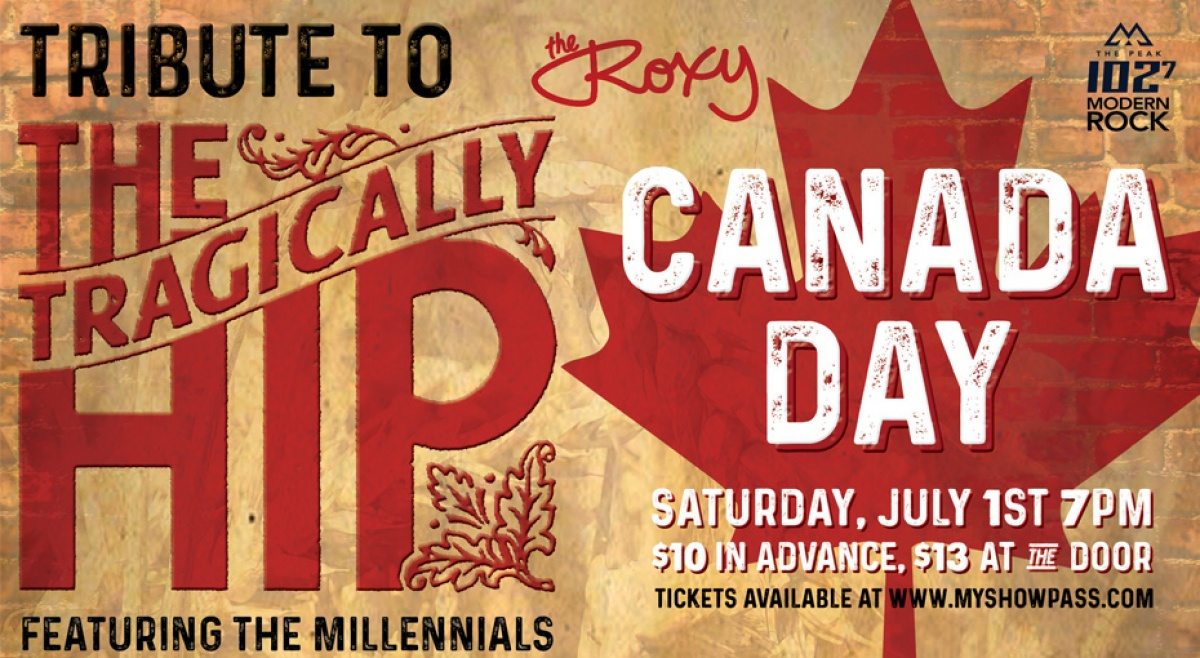 PEAK VIPs: See a Tragically Hip Tribute on Canada Day