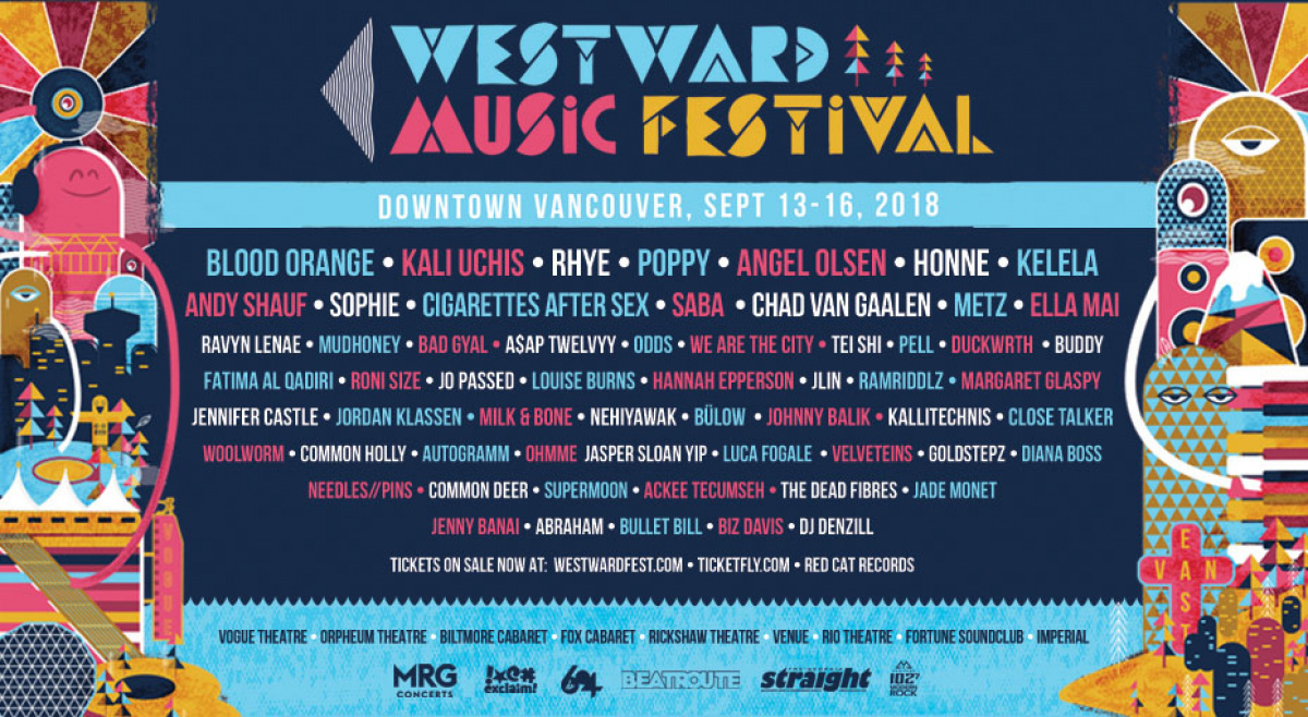 Pick your show at Westward Music Festival