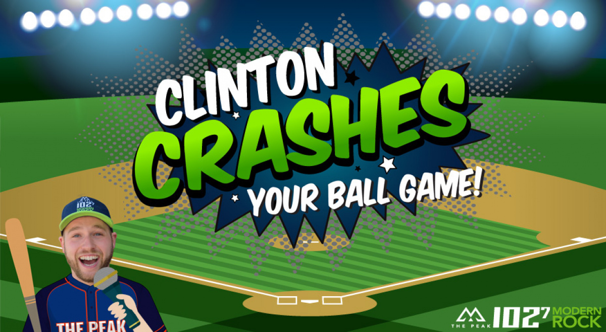 Clinton wants to crash your softball game!