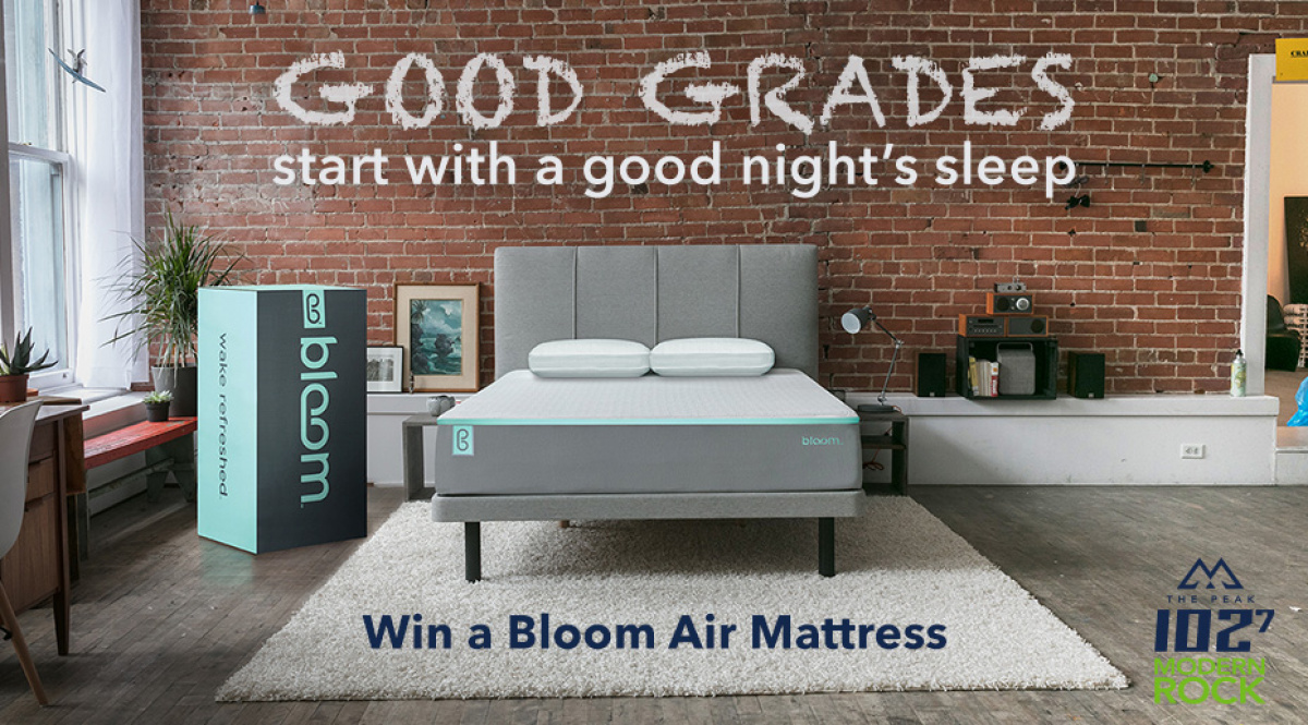 Win A Bloom Air Full Sized Mattress From Sleep Country Canada